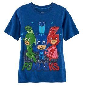 2 for $15 PJ Masks blue t-shirt size 4